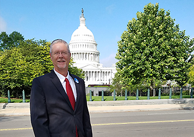 Radiology Associates' Administrator Tim Barrett Participates in RBMA's 2018 Hill Day